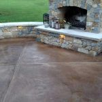 Slate Stained Concrete | Allen California